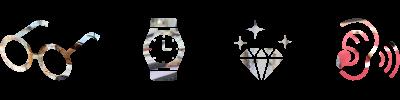 メガネ・時計・宝石・補聴器