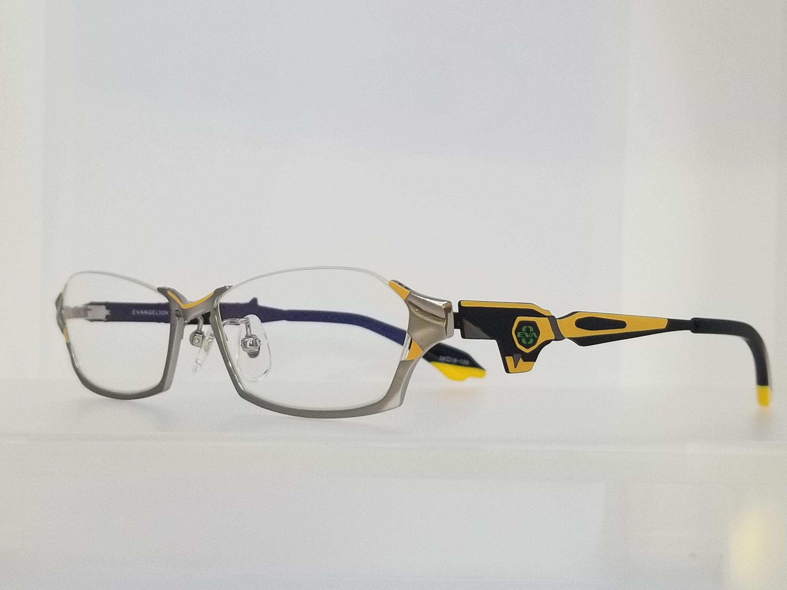 エヴァンゲリオンコラボレーションメガネ EVA 零号機モデル