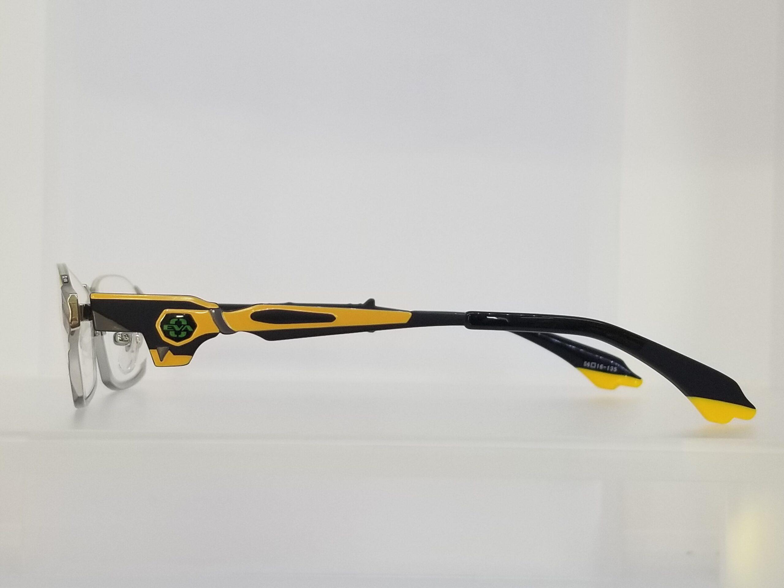 エヴァンゲリオンコラボレーションメガネ EVA 零号機モデルスライド03
