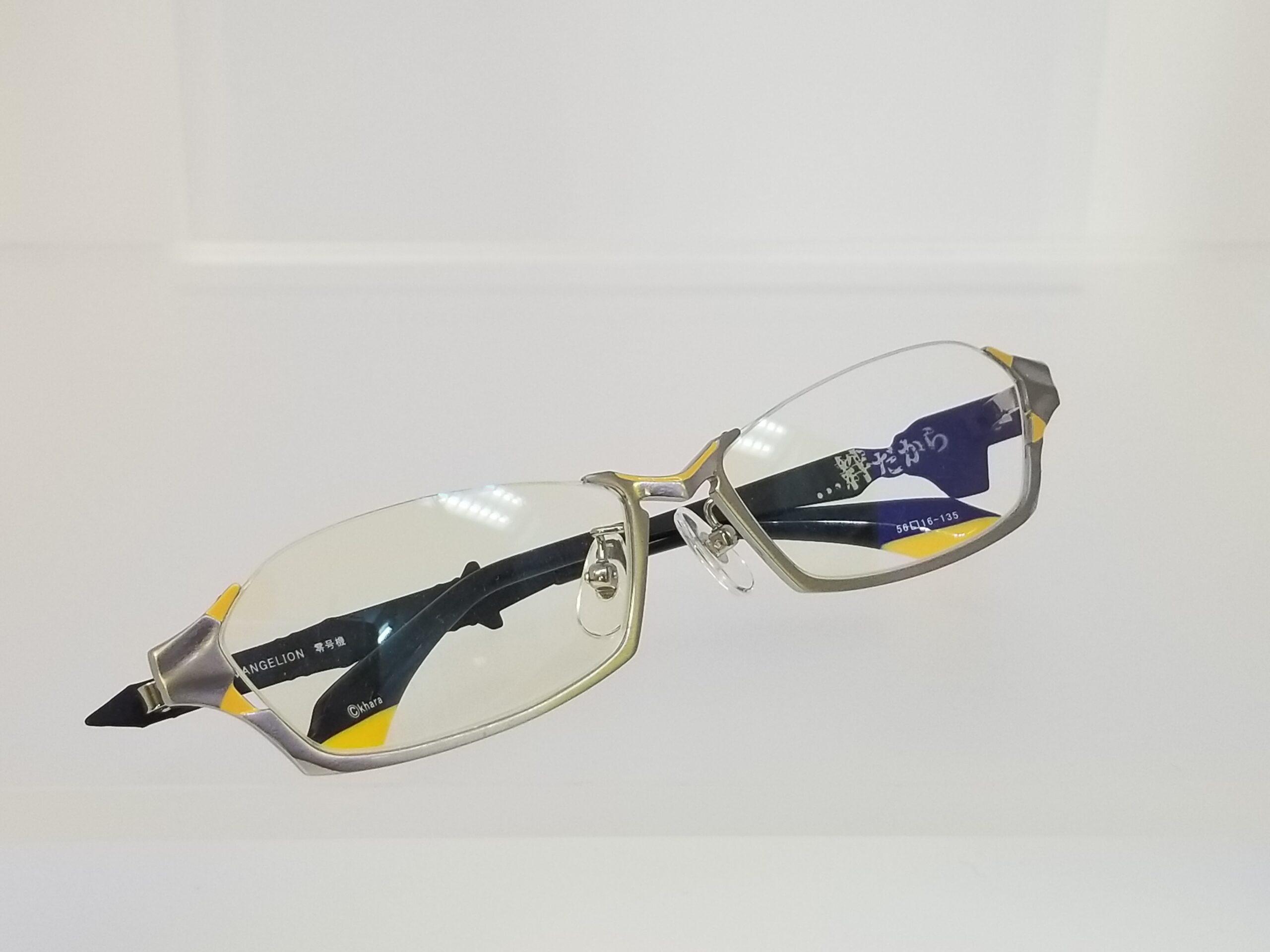 エヴァンゲリオンコラボレーションメガネ EVA 零号機モデルスライド06