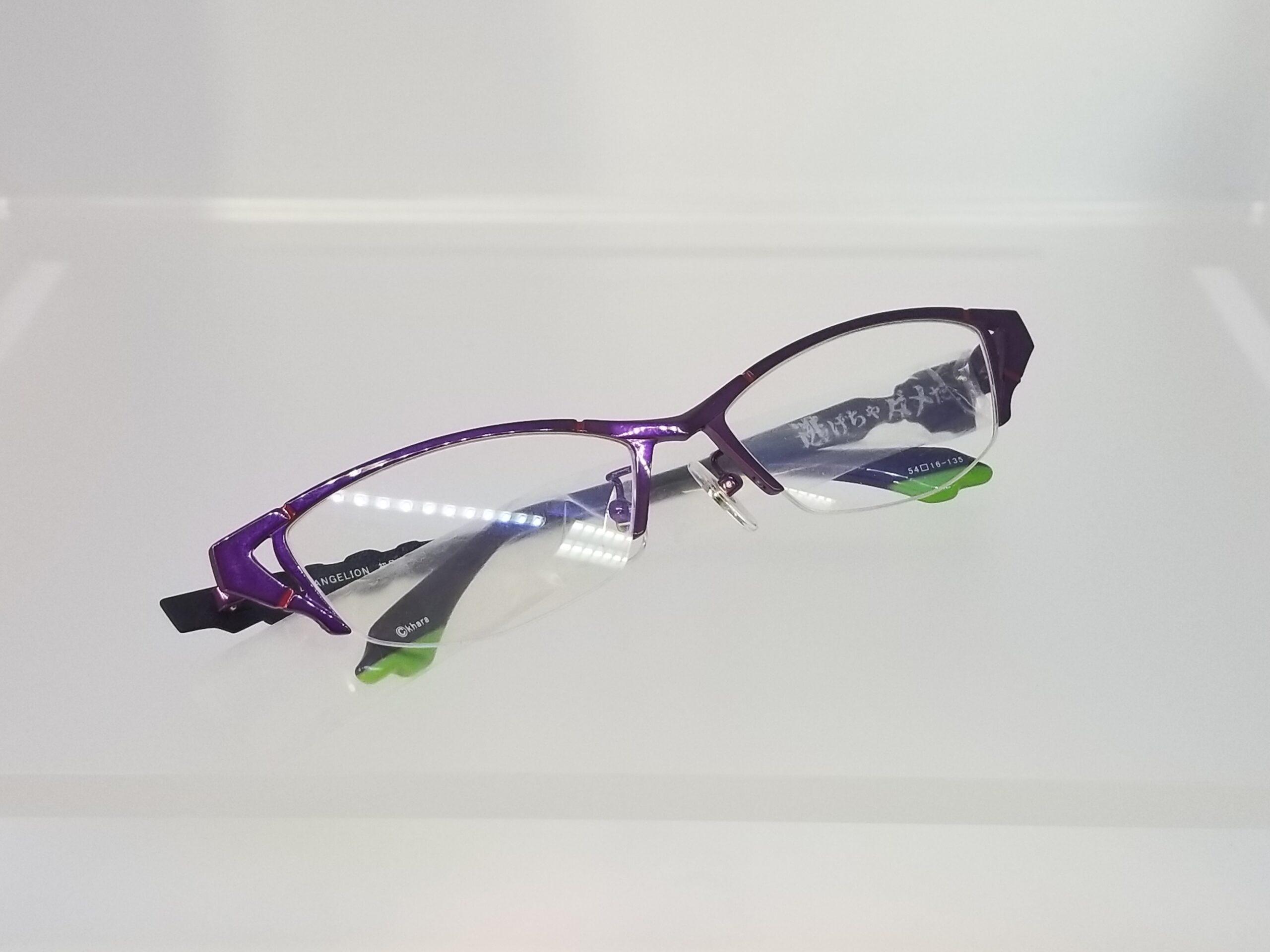 エヴァンゲリオンコラボレーションメガネ EVA 初号機モデルスライド05